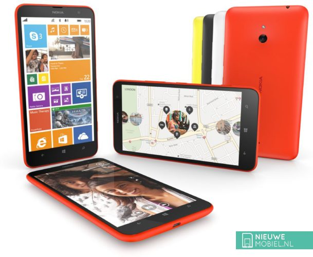 Nokia Lumia 1320 group
