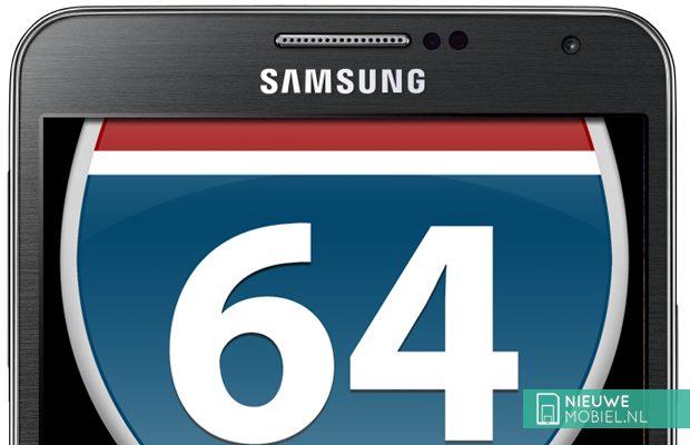Samsung 64-bit smartphone