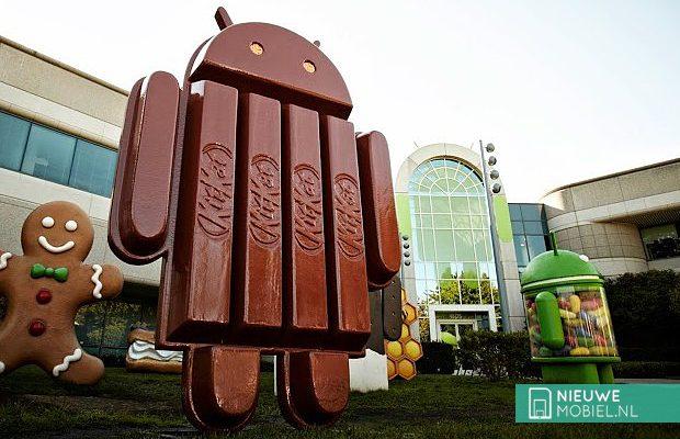 Android KitKat mascotte