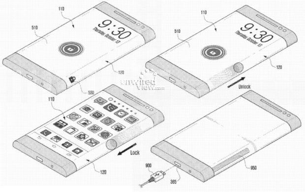 Samsung heeft telefoon met gevouwen scherm in de planning