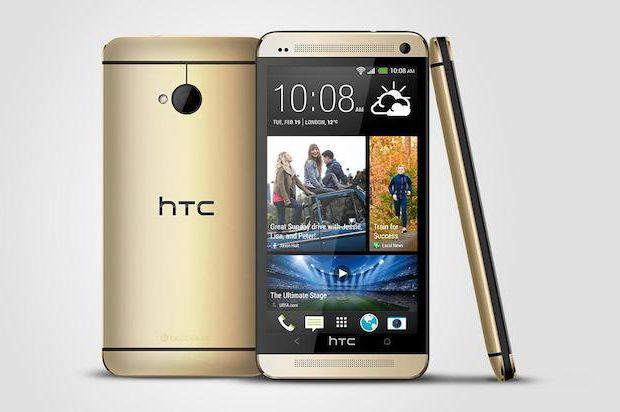 HTC brengt 'betaalbare' gouden versie One uit