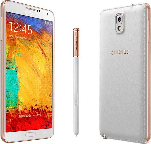 Samsung Galaxy Note 3 rose gold