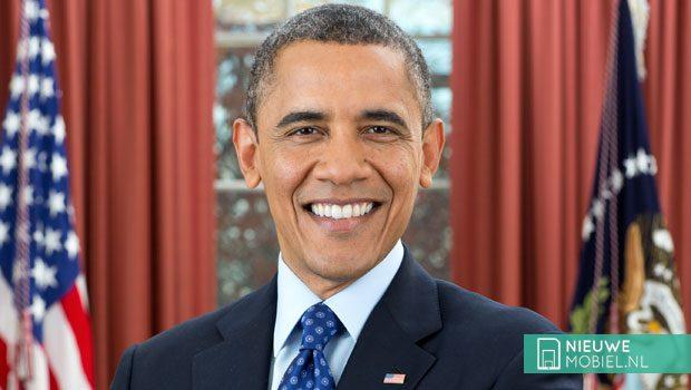 Obama moet iPhone inleveren wegens veiligheidsredenen