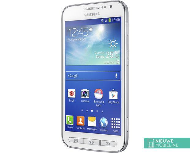 Samsung Galaxy Core Advance White Angle