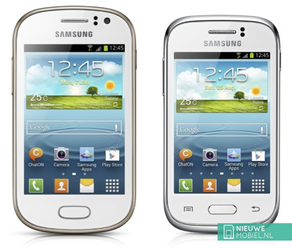Samsung Galaxy Fame and Galaxy Young