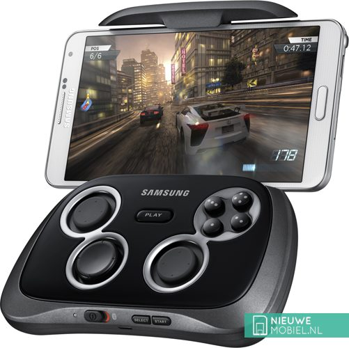 Samsung GamePad with Galaxy Note 3