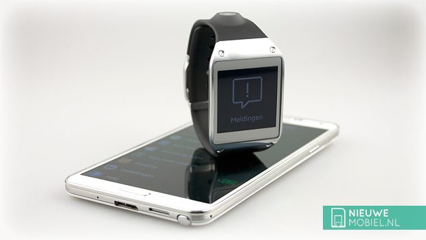 Samsung Galaxy Gear with Note 3