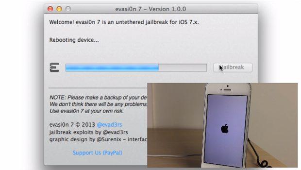 Jailbreak voor iOS 7 beschikbaar
