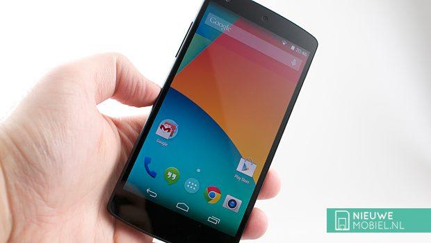 Verkoop LG G2 valt tegen, Nexus 5 krijgt schuld