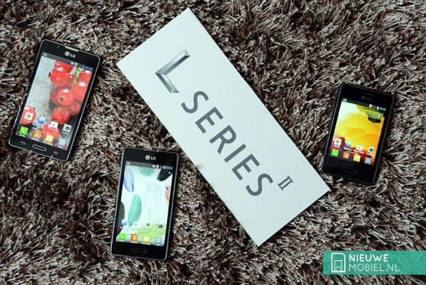 LG Optimus L II series
