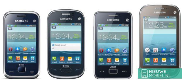 Samsung Rex 60, Rex 70, Rex 80 and Rex 90