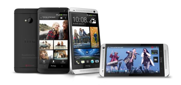 HTC One Black and White