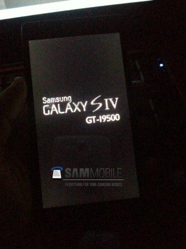 Samsung Galaxy S4 bootscreen?
