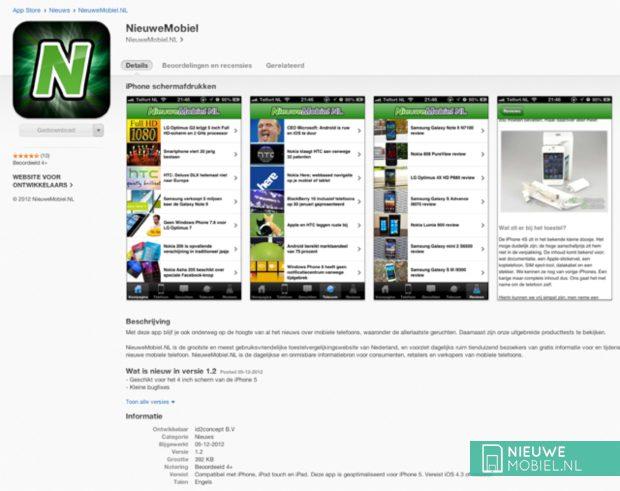 App Store nieuwemobiel
