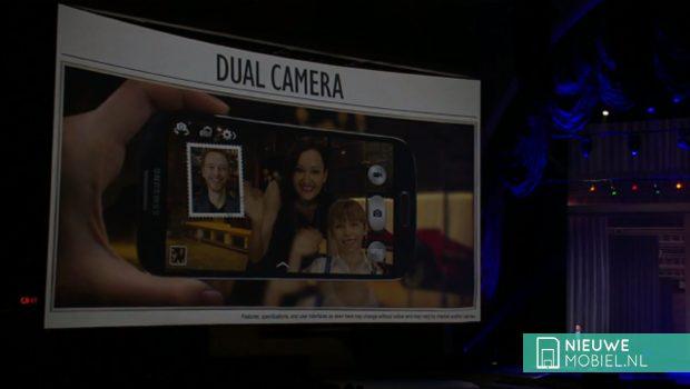 Samsung Galaxy S4 dual camera