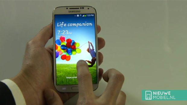 Samsung Galaxy S4 screen