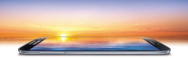 Samsung Galaxy S4 sunset