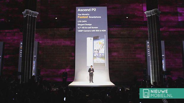 Huawei Ascend P2 mwc13