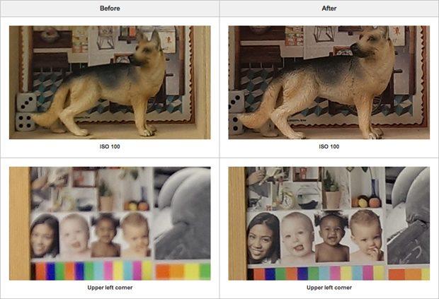 Update nog uit te komen HTC One verbetert camerakwaliteit