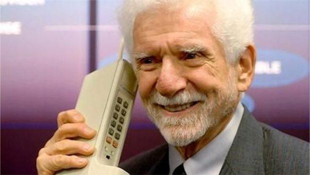 Mobiele telefoon 40 jaar oud