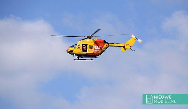 Helikoptercrash mogelijk door sms'ende piloot