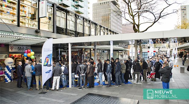 Samsung Galaxy S5 launch rotterdam