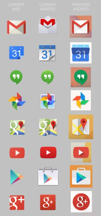 Android icons Moonshine