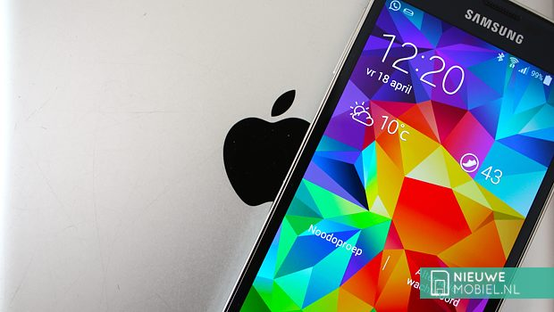 Apple vs Samsung Galaxy S5