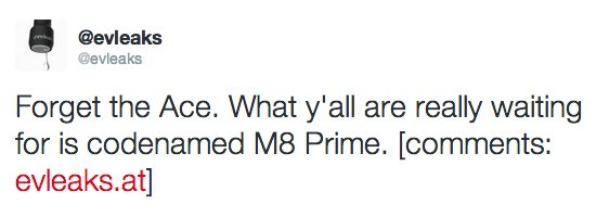 One M8 prime?