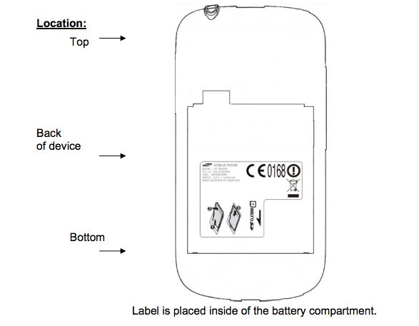 FCC Samsung GT-i8200