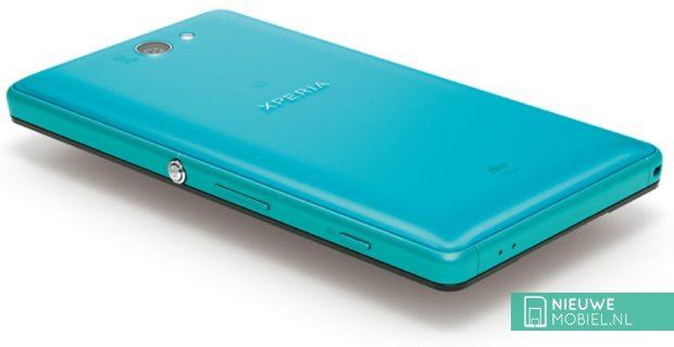 Sony Xperia ZL2 rear