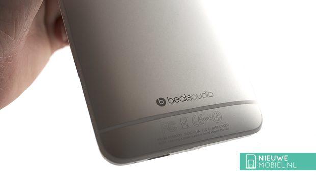 Beats logo on phone