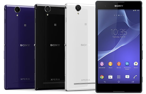 Sony Xperia T2 Ultra color range