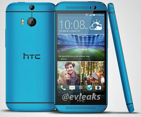 HTC One M8 Vivid Blue