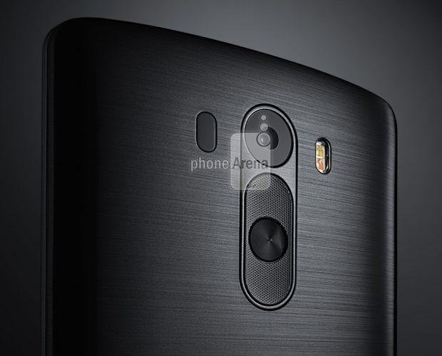 LG G3 black rear