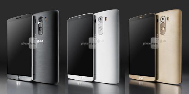 LG G3 press render