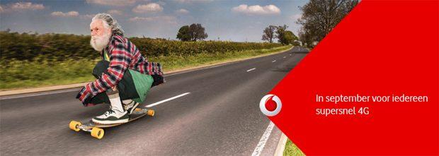 Vodafone 4G september