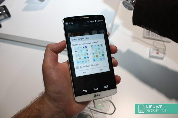 LG G3 large icons