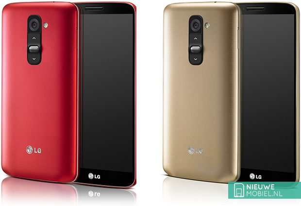 LG G2 in Red and Gold