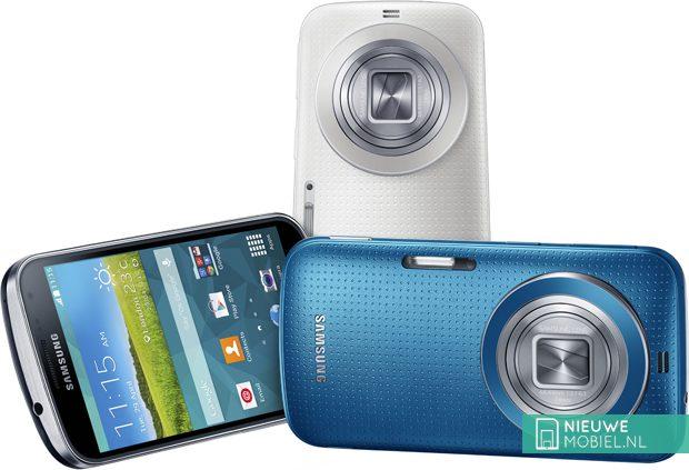 Samsung Galaxy K zoom colors