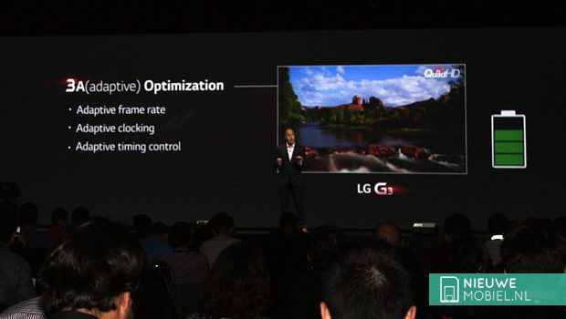 LG G3 3A Adaptive Optimalization