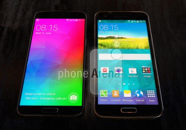 Samsung Galaxy F vs Galaxy S5