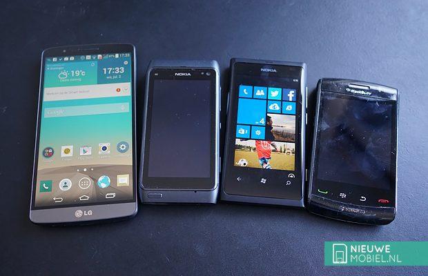 Mobile phone platforms