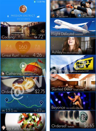 Samsung TouchWiz Magazine UX