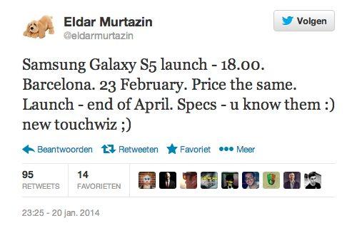 Eldar Samsung Galaxy S5
