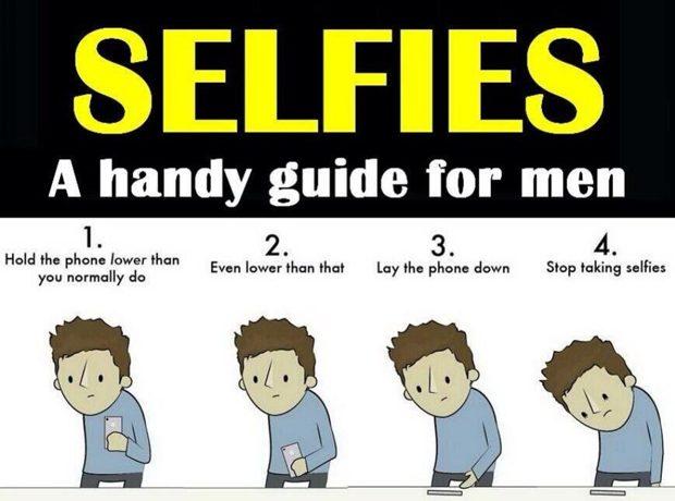 Selfie manual for men