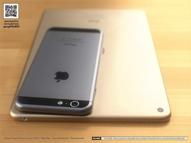 New iPhone 6 and iPad mini 3 concept from Martin Hajek
