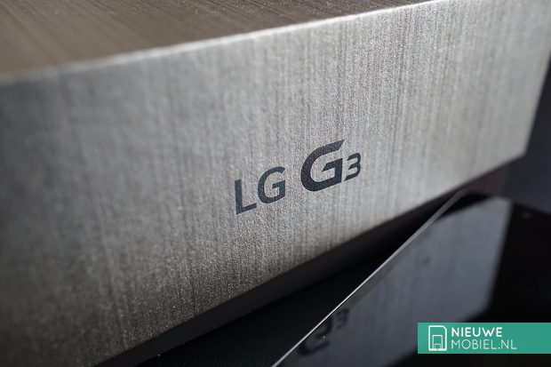 LG G3 package