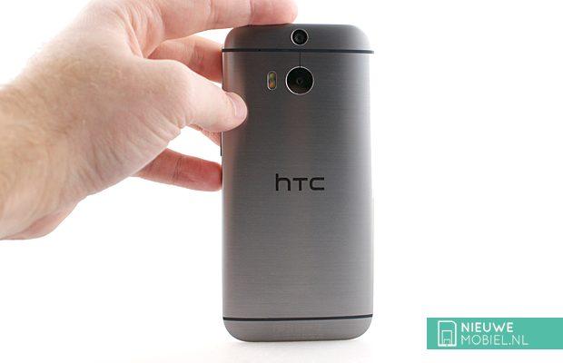 HTC One M8 achterkant