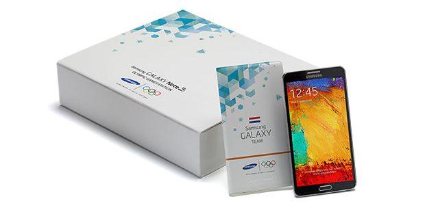 Samsung komt met speciale Olympische-uitvoering Galaxy Note 3